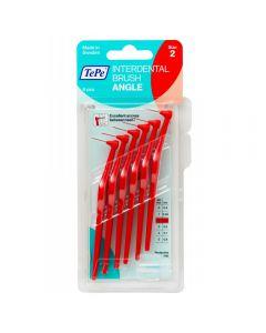 TePe Angle 0,5 mm Rood à 6 stuks
